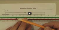 Scale Ruler Worksheet