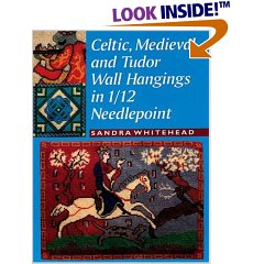Celtic, Medieval and Tudor Wall Hangings in 1/12 Needlepoint (Paperback)