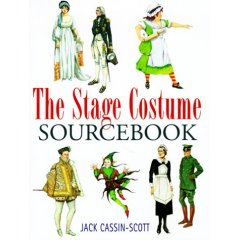 The Stage Costume Sourcebook (Hardcover)
