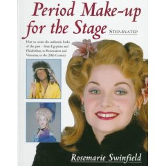 Period Make-Up for the Stage: Step-By-Step (Hardcover)