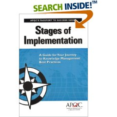 Stages of Implementation: A Guide for Your Journey to Knowledge Management Best Practices