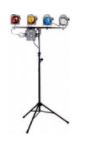 Stage Lighting Gear to be used during Hands On workshops